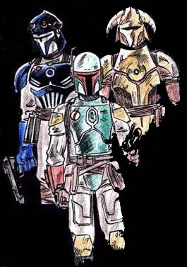 Today from Google Images... Mandalorians